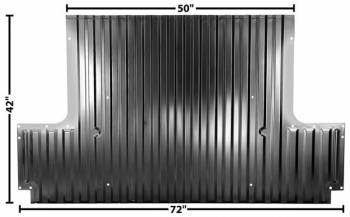 Dynacorn International LLC - Bed Floor Rear Half Section - Image 1