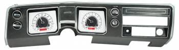Dakota Digital - Dakota Digital VHX Gauge System Silver Alloy Red - Image 1
