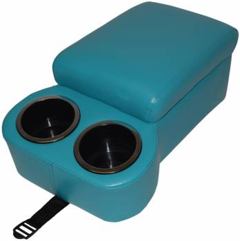 Classic Consoles - Bench Seat Console Turquoise - Image 1
