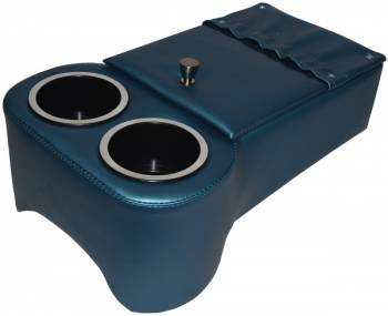 Classic Consoles - Trans Hump Console Bright Blue