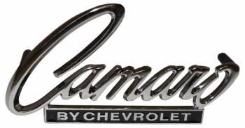 H&H Classic Parts - Trunk Emblem (Camaro by Chevrolet) - Image 1