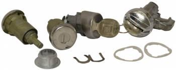 PY Classic Locks - Door Trunk & Glove Box Lock Set - Image 1