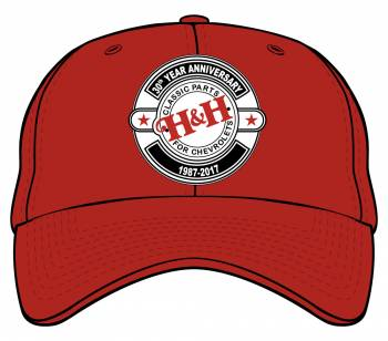 H&H Classic Parts 30th Anniversary Hat - Image 1