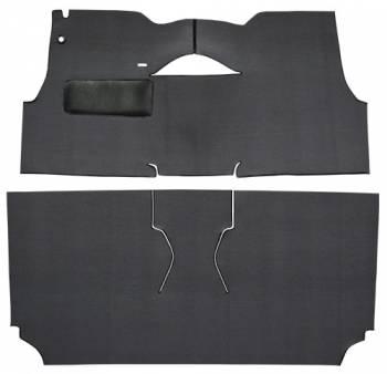 Auto Custom Carpet - Black Daytona Loop Carpet - Image 1