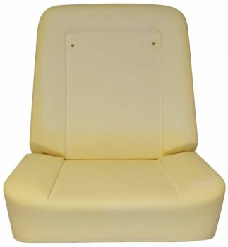 PUI (Parts Unlimited Inc.) - Economy Bucket Seat Foam (Does One Seat) - Image 1