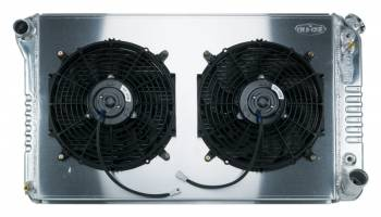 Cold Case Radiators - Aluminum Radiator with Shroud and Electric Fan