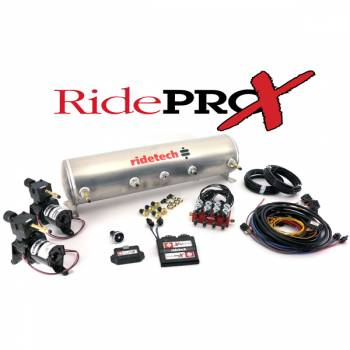 RideTech - Ride Pro X 5-Gallon Analog Control System with BIG RED Valves - Image 1