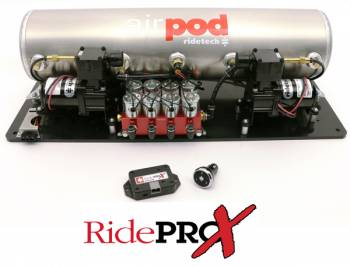 RideTech - AirPod 5-Gallon Analog Control System with BIG RED Valves - Image 1