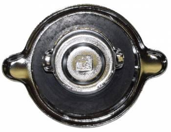 "OER (Original Equipment Reproduction) - Chrome Oil Cap ""S"" Style - Image 1"