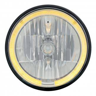 United Pacific - LED Headlight Bulb with Amber Halo - Image 1
