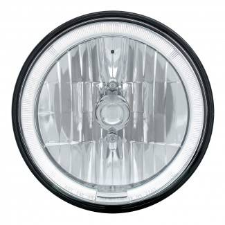 United Pacific - LED Headlight Bulb with White Halo - Image 1