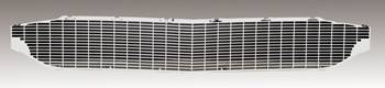 DKM Manufacturing - Silver Grille (Grille Bar Delete)