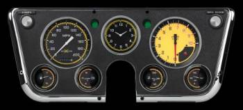 Classic Instruments - Gauge Kit (Auto Cross Yellow)