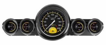 Classic Instruments - Gauge Kit (Autocross Yellow) - Image 1