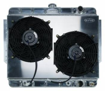 Cold Case Radiators - Aluminum Radiator with Shroud Electric Fan Kit