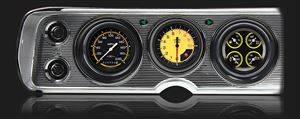 Classic Instruments - Classic Instruments Gauge Kit (Autocross Yellow) - Image 1