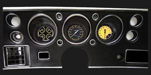 Classic Instruments - Gauge Kit (Autocross Yellow) - Image 1