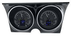 Dakota Digital - HDX Gauge System Black Alloy