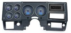 Dakota Digital - VHX Series Gauge System Carbon Fiber Blue - Image 1