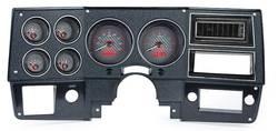 Dakota Digital - VHX Series Gauge System Carbon Fiber Red - Image 1
