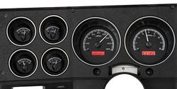 Dakota Digital - Dakota Digital VHX Gauge System Gauge System Black Alloy Red - Image 1