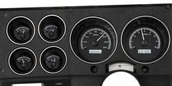 Dakota Digital - VHX Series Gauge System Black Alloy White - Image 1