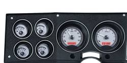 Dakota Digital - Dakota Digital VHX Gauge System Gauge System Silver Alloy Red - Image 1
