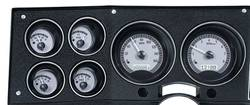 Dakota Digital - VHX Series Gauge System Silver Alloy White - Image 1
