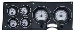 Dakota Digital - Dakota Digital VHX Gauge System Gauge System Silver Alloy White - Image 1
