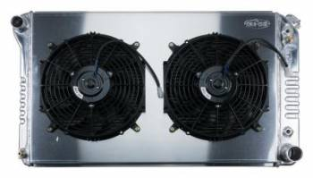 Cold-Case Radiators - Aluminum Radiator with Dual Electric Fans - Image 1