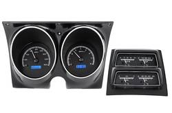 Dakota Digital - VHX Series Gauges Carbon Fiber Blue - Image 1