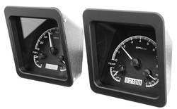Dakota Digital - Dakota Digital VHX Gauge System Black Alloy White - Image 1