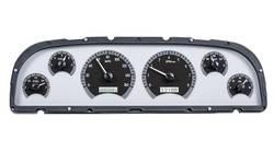 Dakota Digital - VHX Series Gauges Silver Alloy White - Image 1
