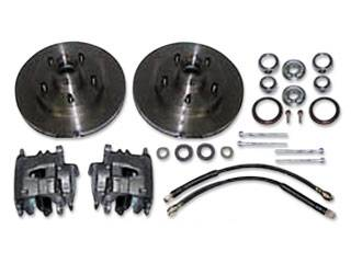 Classic Performance Products - Rotor/Caliper Kit for Stock Height Spindles - Image 1