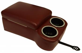 Classic Consoles - Bench Seat Console Maroon