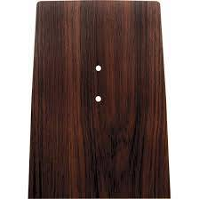 OER (Original Equipment Reproduction) - Forward Console Plate Cherrywood - Image 1
