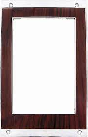 OER (Original Equipment Reproduction) - Console Shift Plate Cherrywood - Image 1