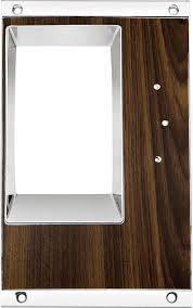 OER (Original Equipment Reproduction) - Console Shift Plate Walnut - Image 1