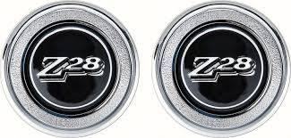OER (Original Equipment Reproduction) - Door Panel Emblems Black - Image 1