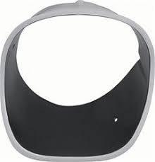 OER - Headlight Bezel Black LH - Image 1