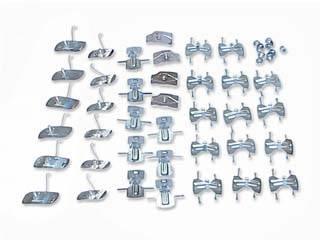 H&H Classic Parts - Complete Side Molding Clip Set - Image 1