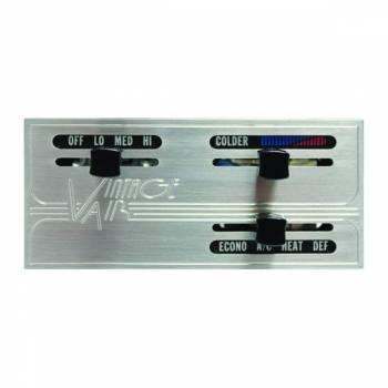 Vintage Air - GEN IV Proline Panel with Polished Bezel & Knobs - Image 1