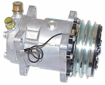 Vintage Air - Standard Compressor with Dual Grove Pulley - Image 1