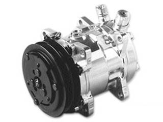 Vintage Air - Polished Compressor with Dual Grove Pulley - Image 1