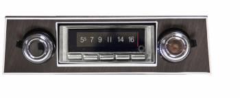 Custom Autosound - USA-740 AM/FM Blue Tooth Radio - Image 1