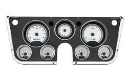Dakota Digital - Dakota Digital VHX Gauge System Silver Alloy White - Image 1