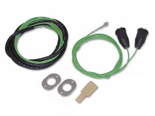 American Autowire - Backup Light Harness from Fuse Panel to Backup Light Connections - Image 1