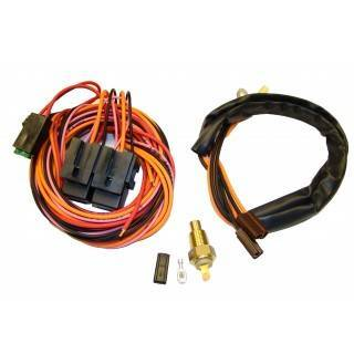 American Autowire - Dual Electric Fan Relay Kit - Image 1