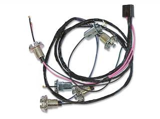 American Autowire - Rear Section of Taillight Harness - Image 1