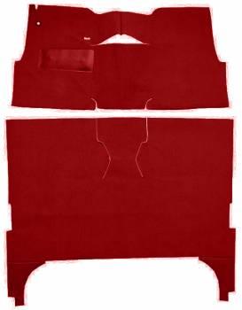 Auto Custom Carpet - Red 80/20 Loop Carpet - Image 1
